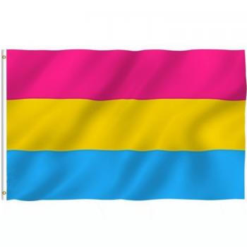 Pansexuell Flagge 90 x 150 cm