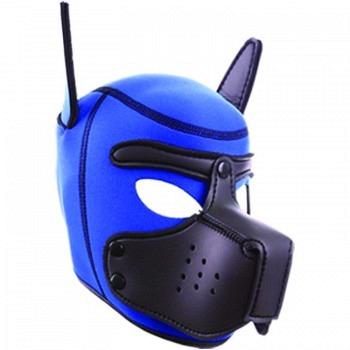Neoprene Puppy Hoods blue/black L